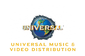 Universal Music and Video Distribution logo.