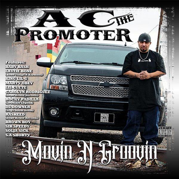 AC The Promoter album Moovin N Groovin