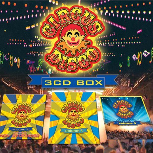 Circus Disco CD Box Set volumes 3-5