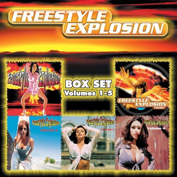 Freestyle Explosion CD Box Set