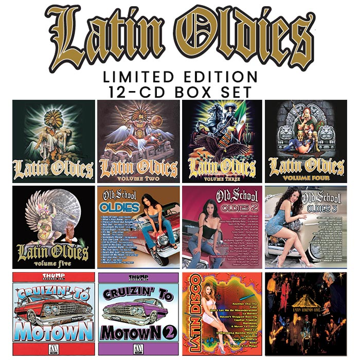 Latin Oldies CD box set