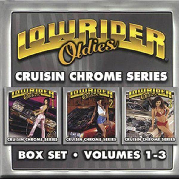 Lowrider Oldies CD Box Set volumes 1-3