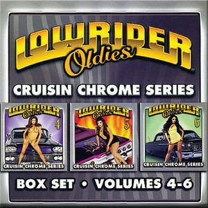 Lowrider Oldies CD Box Set volumes 4-6