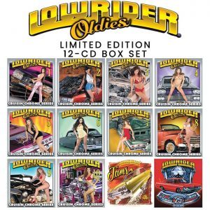Thump Records Lowrider Oldies CD box set.