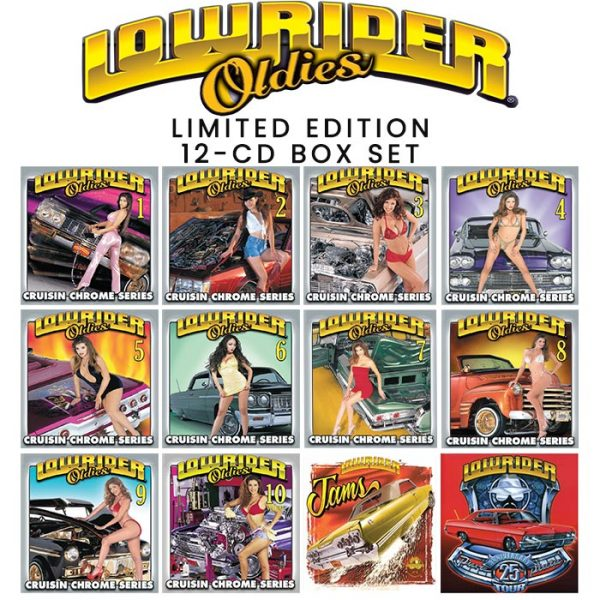 Thump Records Lowrider Oldies CD box set.