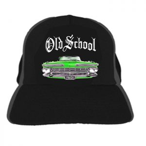 Cap Old School Green Car