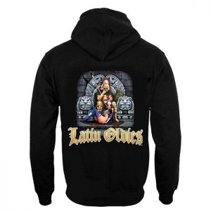Latin Oldies clothing hoodie.