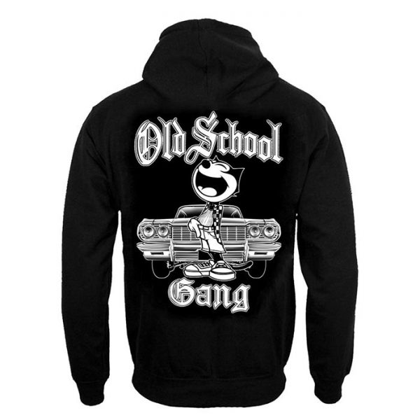 Clothing Hoodie Old School Gang