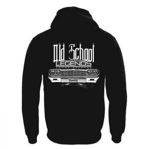 Clothing Hoodie Old School Legends
