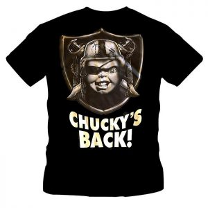 T-Shirt Chucky's Back Raiders