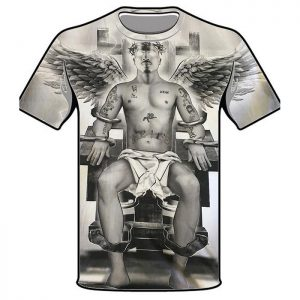 T-Shirt Tupac Electric Chair
