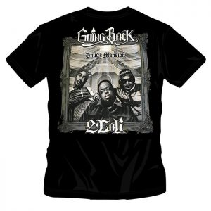 T-Shirt Going Back 2 Cali