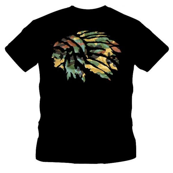 T-Shirt Native Indian Head