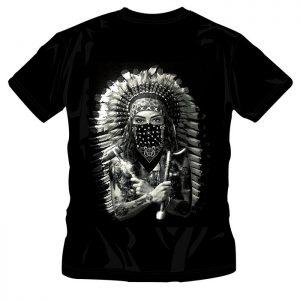T-Shirt Native Indian Woman