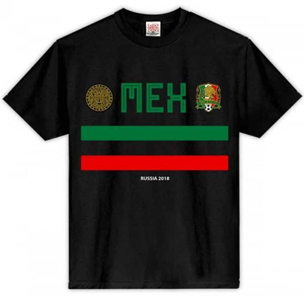 T-Shirt Mexico Russia 2018