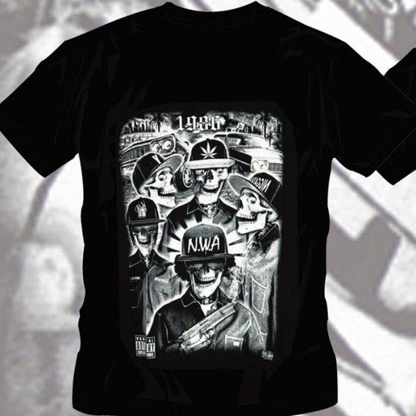 T-Shirt NWA 1986