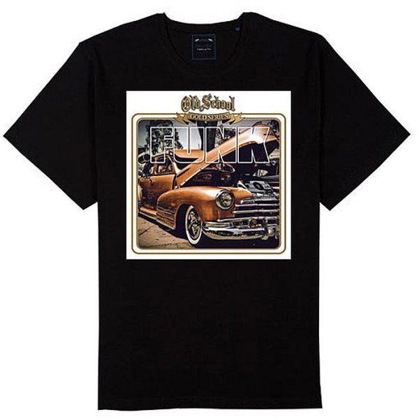 T-Shirt Old School Gold Funk