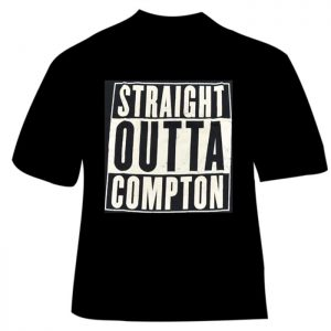 T-Shirt Straight Outta Compton