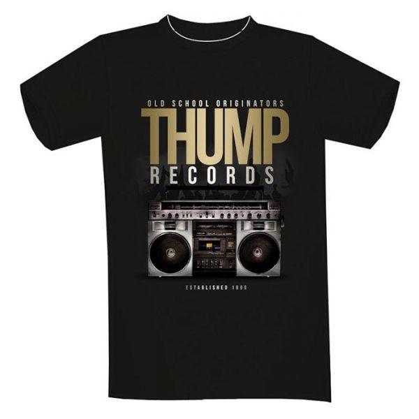T-Shirt Thump Records Boom Box.
