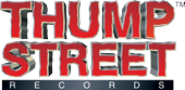Thump Street Records logo.
