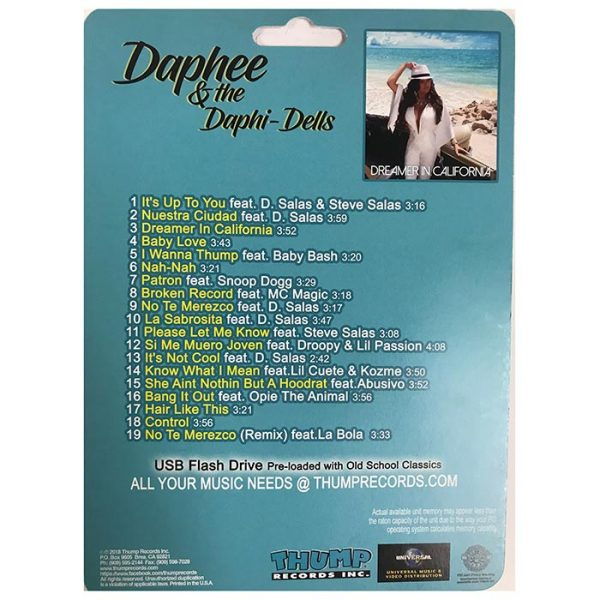 Thump Records Daphee MP3 collection track listing.