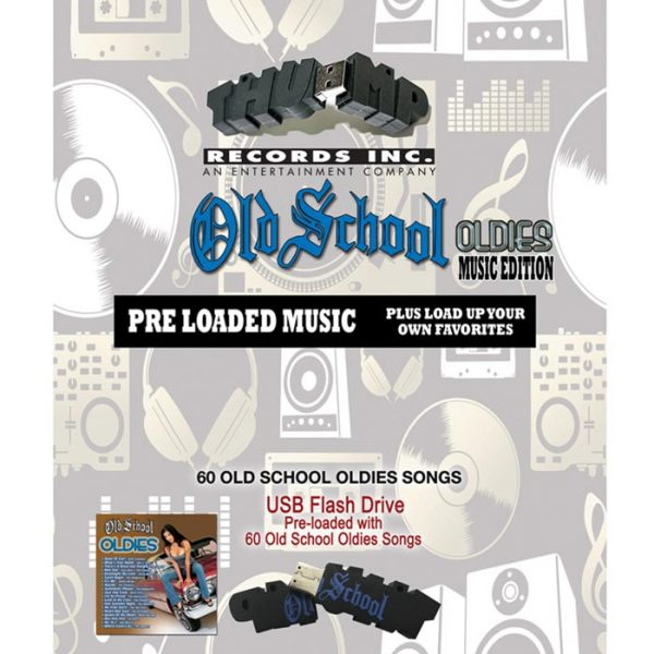 Thump Records Old School Oldies MP3 collection.