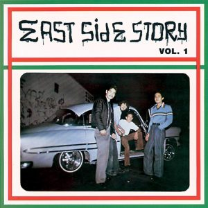 Vinyl record East Side Story volume 1.