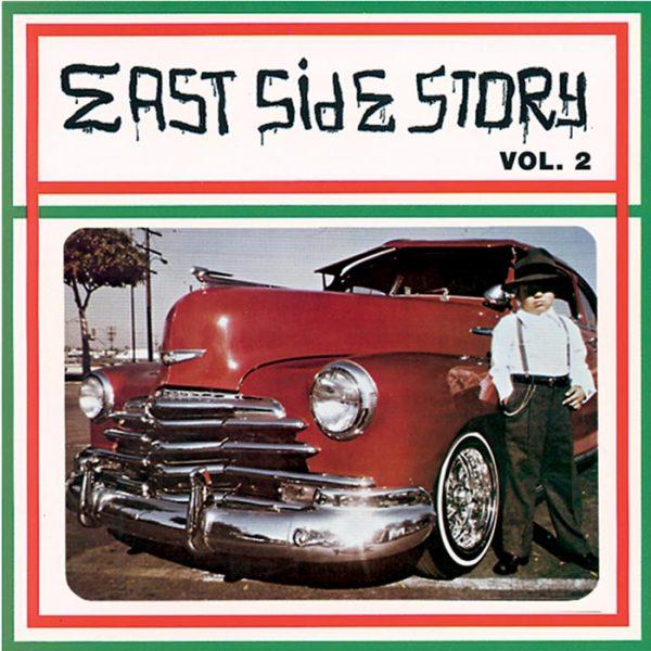 Vinyl record East Side Story volume 2.