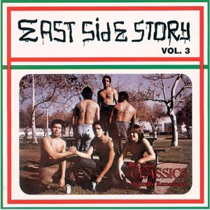 Vinyl record East Side Story volume 3.