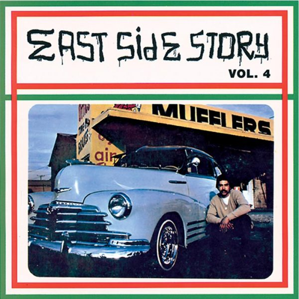 Vinyl record East Side Story volume 4.