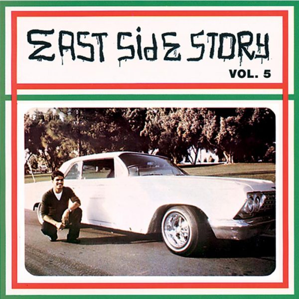 Vinyl record East Side Story volume 5.