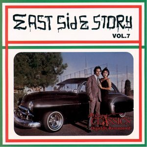 Vinyl record East Side Story volume 7.