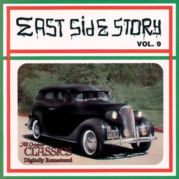 Vinyl record East Side Story volume 9.