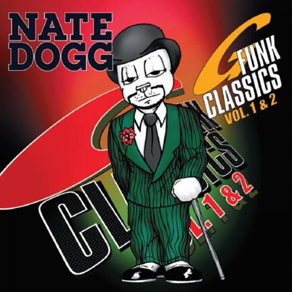 Vinyl record Nate Dogg G-Funk Classics volumes 1 and 2.