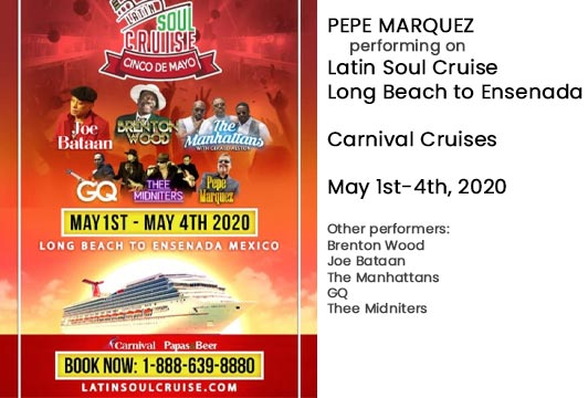 Event May 1 2020 with artist Pepe Marquez.