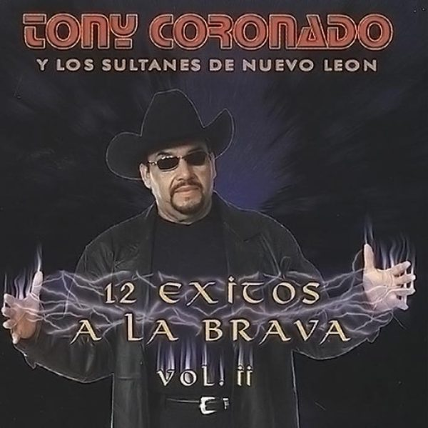 ALBUM TONY CORONADO 12 EXITOS VOL 2