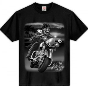 T-SHIRT RIDE TILL YOU DIE