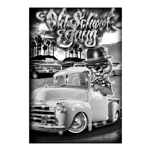 old school gang poster