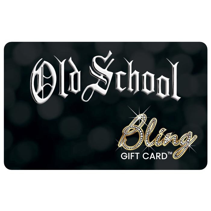 old school bling card