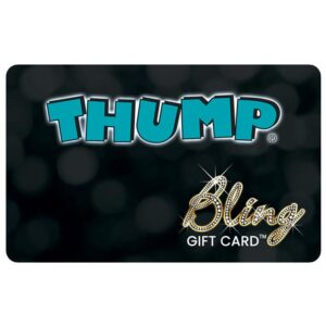 thump bling card