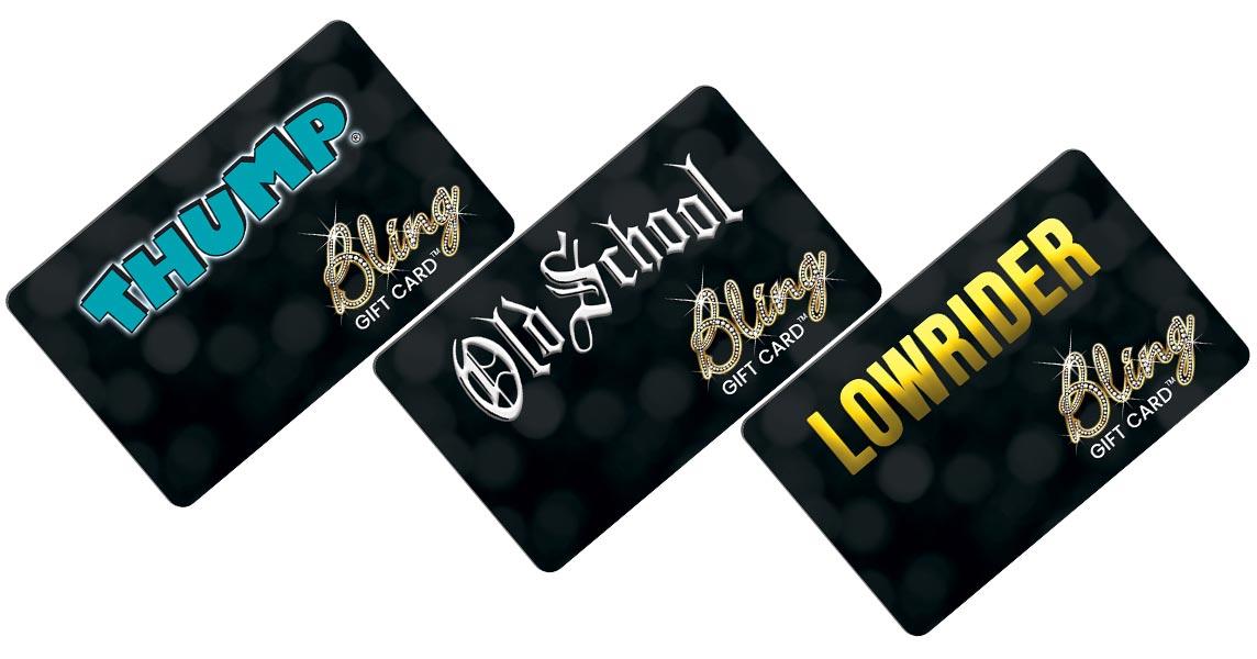 bling card