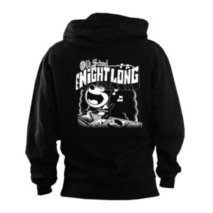 Old School All Night Long Hoodie