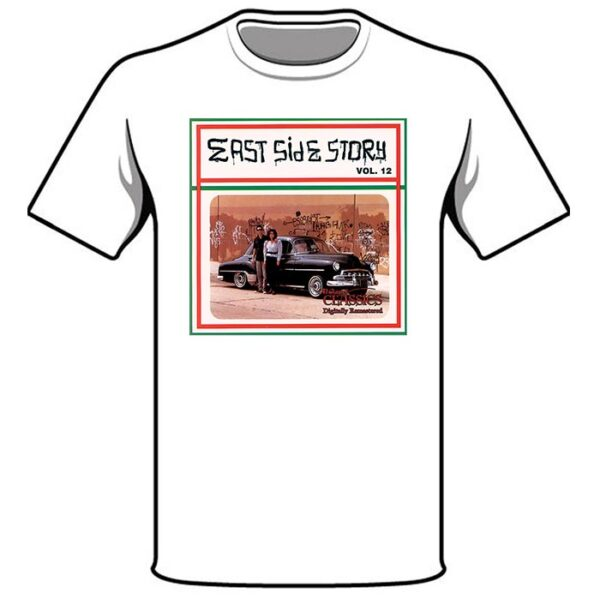 East Side Story 12 T-shirt in White