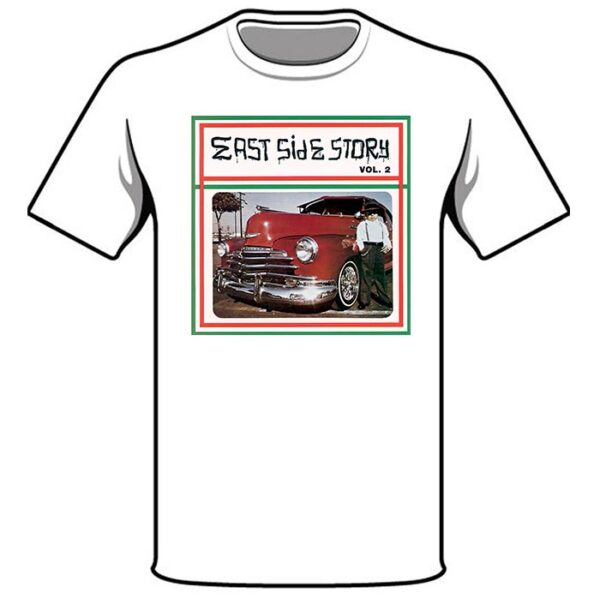 East Side Story 2 T-Shirt in White